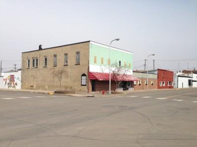 Former Ben Franklin store, downtown Paynesville
