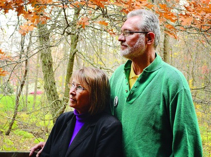 Photo by Jenny Kirk. Patty and Jerry Wetterling are shown at their home recently. The Wetterlings sat down with the Independent last week to talk about their missing son, Jacob, and how their lives have changed since the day he was abducted, 25 years ago today.