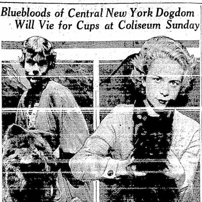 Constance Van Duyn with Ted-dee-boop